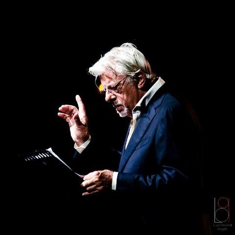Le Parole Note con Giancarlo Giannini con Marco Zurzolo Quartet sul palco del Teatro Excelsior