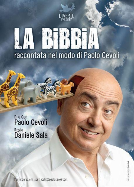 La Bibbia raccontata nel modo di Paolo Cevoli al Tuscany Hall