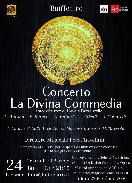 La Divina Commedia Opera Musical al ButiTeatro