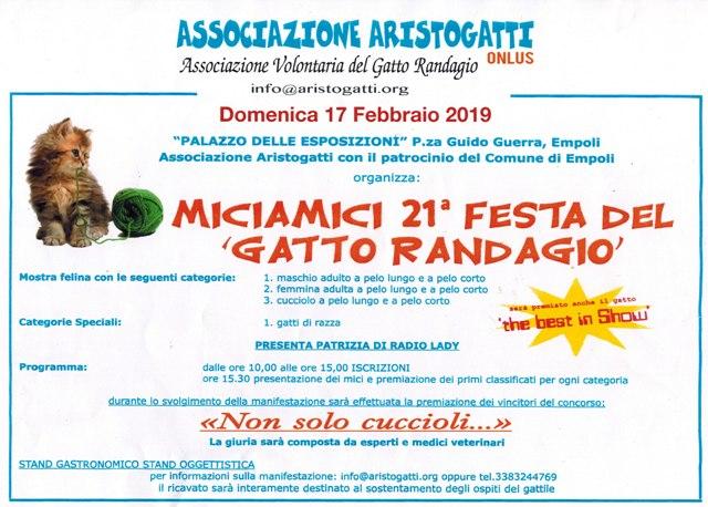 Empoli Miciamici 21 Festa Del Gatto Randagio A Cura Dell