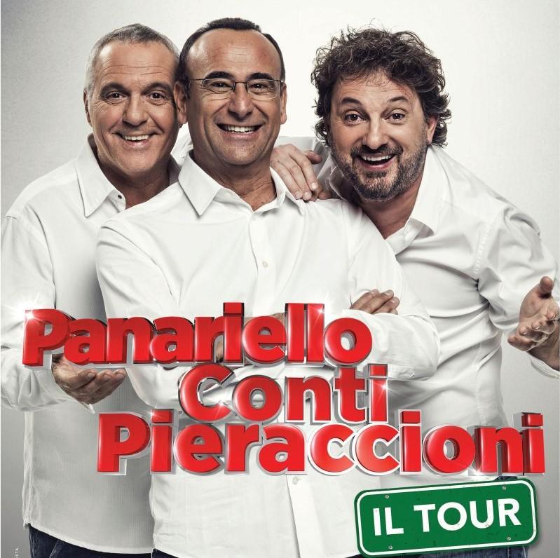 Panariello, Conti, Pieraccioni ritornano con il Summer Tour al Modigliani Forum
