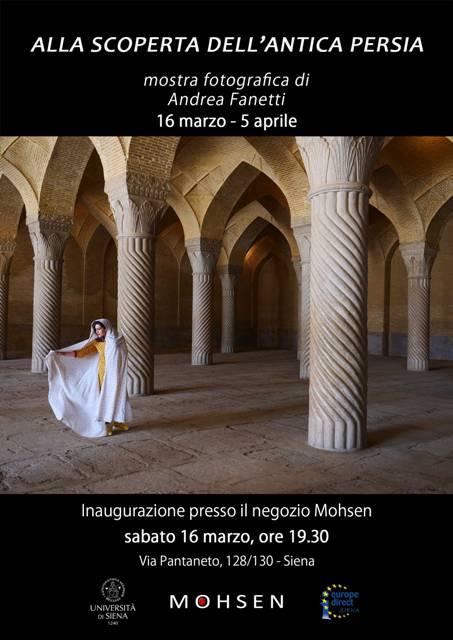 Alla scoperta dell'antica Persia mostra del fotografo Andrea Fanetti al Mohsen