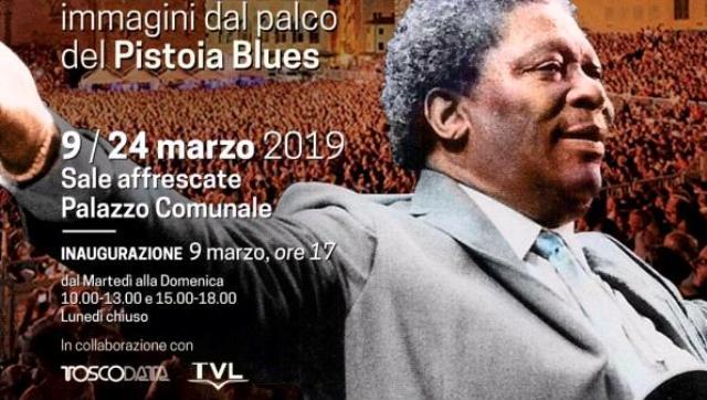 Pistoia Città Blues la mostra con le immagini dal palco del Pistoia Blues a Palazzo Comunale