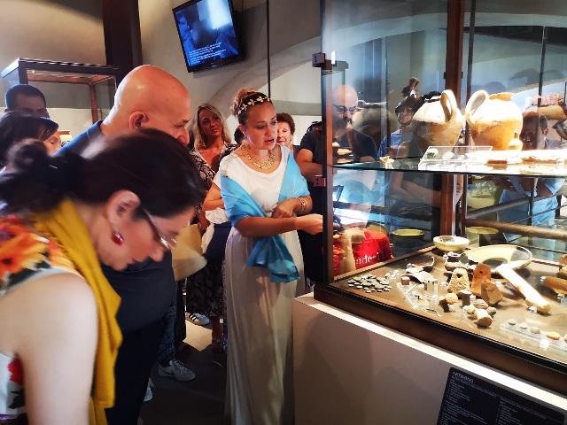 Aprile al Museo archeologico di Artimino