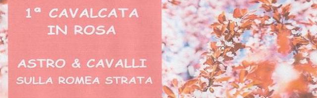 Cavalcata in Rosa A.S.T.R.O & Cavalli sulla Romea Strata, viaggio all'insegna della voglia di vincere