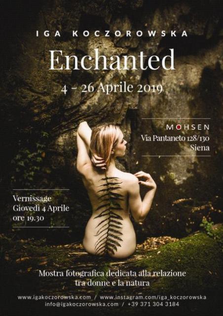 Enchanted la mostra fotografica di Iga Koczorowska al Mohsen