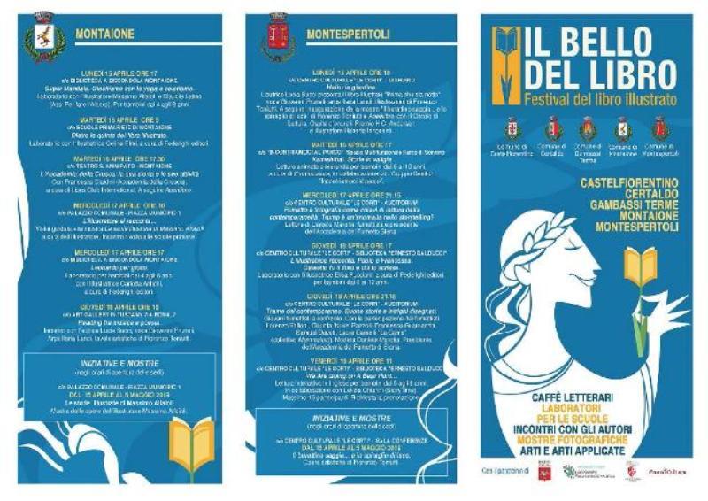Il Bello del Libro: tutti gli eventi di Certaldo. Otto eventi, tre mostre, una libreria ed una lettura pubblica