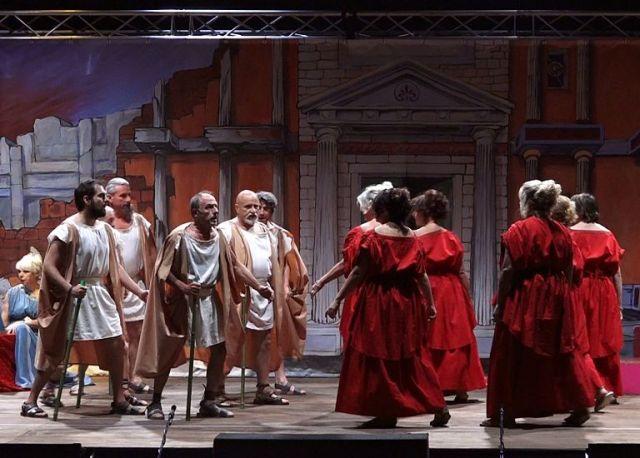 Aiace al Teatro Romano di Fiesole per la rassegna Estate Fiesolana