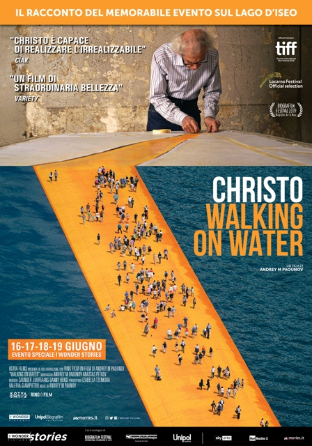 Christo – Walking on water