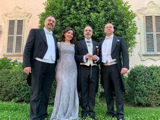 Lirica protagonista in Piazza Farinata degli Uberti con il concerto dell'orchestra Mosaico