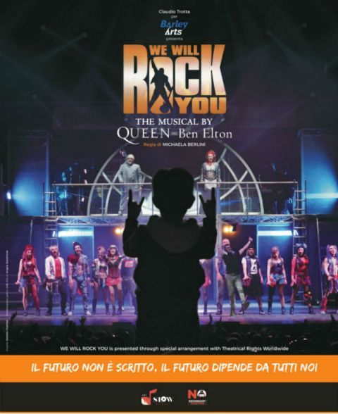 We Will Rock You The Musical by Queen and Ben Elton arriva al Verdi di Firenze