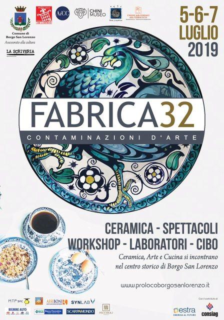 Fabrica32 il Festival della Ceramica a Borgo San Lorenzo, la città d'ospite sarà Montelupo Fiorentino