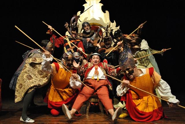 Sancho Panza Gobernador dell'Isola Barattaria, lo spettacolo in scena alla Limonaia di Villa Strozzi