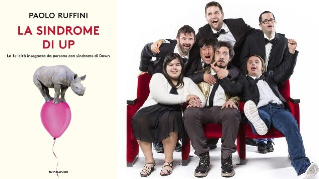Paolo Ruffini presenta il suo libro La sindrome di Up