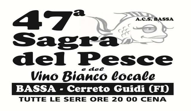 Sagra del Pesce e del Vino Bianco locale a Bassa