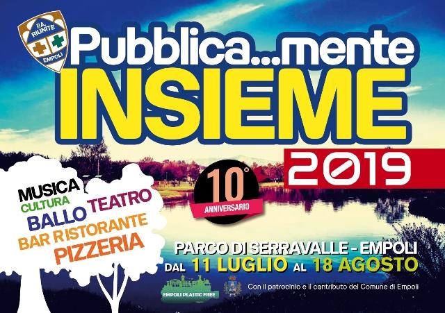 Pubblica…mente Insieme, l'estate di Empoli al Parco di Seravalle