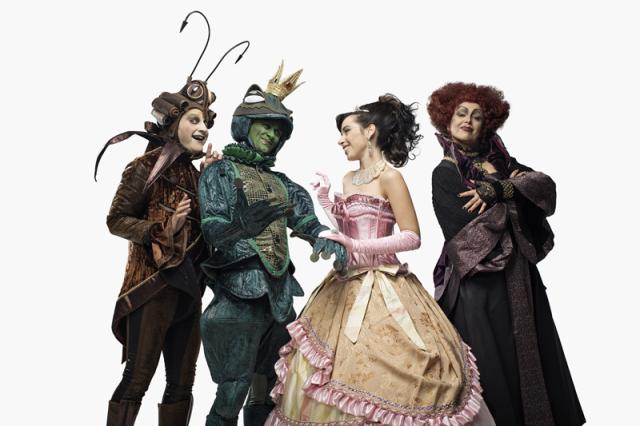 Il Principe Ranocchio, il musical, a villa Bertelli a Forte dei Marmi