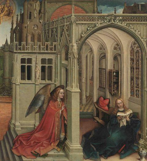 Dal Prado al Museo di San Marco, l'Annunciazione di Robert Campin in dialogo col Beato Angelico
