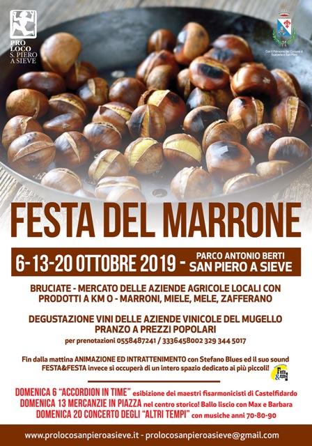 Festa del Marrone a San Piero a Sieve