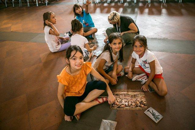 Firenze, l'inglese si impara al museo MUS.ENGLISH il corso di inglese per bambini nei musei della città, fra percorsi tematici e laboratori