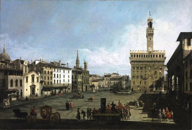 Bernardo Bellotto 1740. Viaggio in Toscana, mostra dedicata al pittore veneziano complesso di San Micheletto