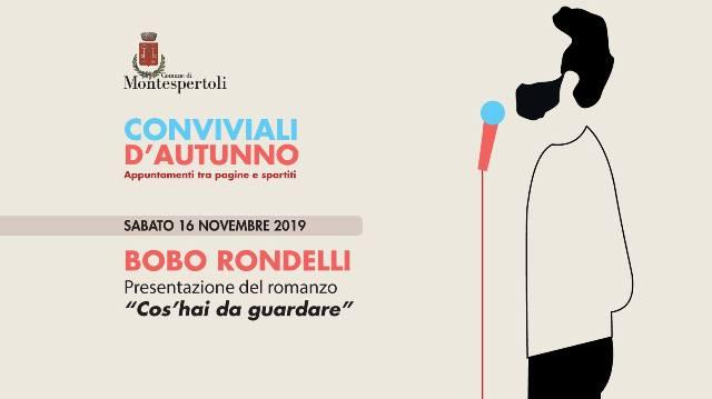 Bobo Rondelli a Conviviali d'Autunno a Montespertoli