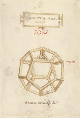 Leonardo – de divina proportione -Dodecaedro