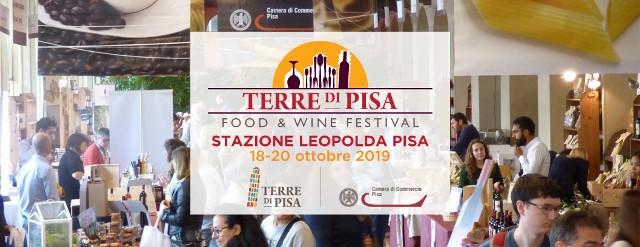 Terre di Pisa Food & Wine Festival 2019, ingresso gratuito
