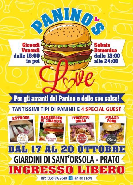 Panino's Love prima edizione per gli amanti dei panini e delle salse