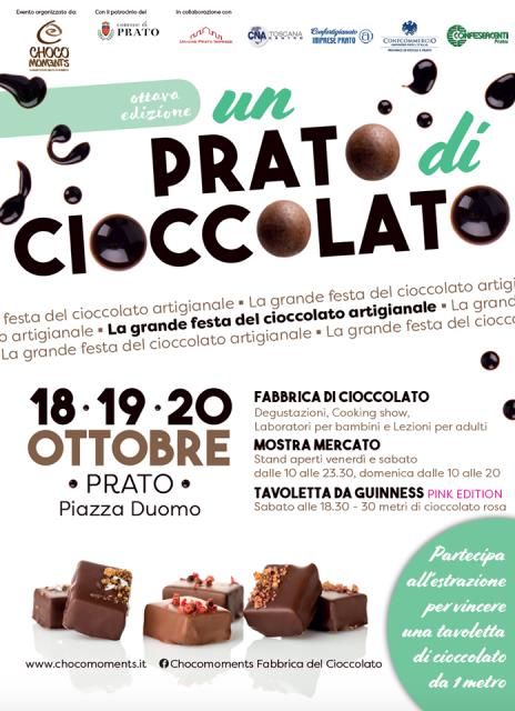 Un Prato di Cioccolata, tre giorni fitti di eventi con cacao protagonista