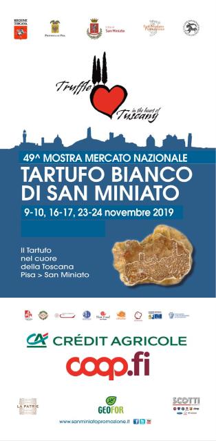 49esima Mostra Mercato Nazionale del Tartufo Bianco di San Miniato