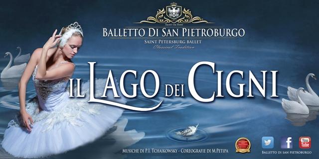 Il Lago dei Cigni alla Città del Teatro di Cascina con il balletto di San Pietroburgo