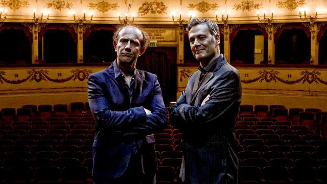 Prima regionale di Nati sotto contraria stella  con Ale e Franz al Teatro Verdi di Santa Croce sull'Arno