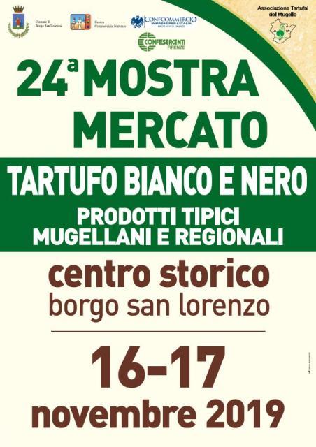 Mostra del Mercato del Tartufo Bianco e Nero del Mugello a Borgo San Lorenzo