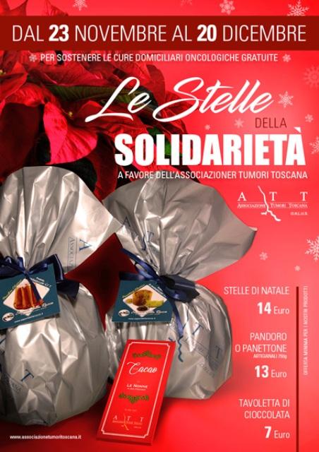 Natale con l'A.T.T. mercatini e tanti appuntamenti in programma per le Cure Domiciliari Oncologiche gratuite