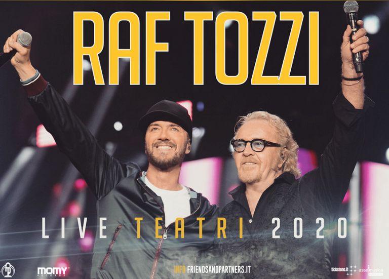 Raf e Tozzi in concerto al Teatro Verdi