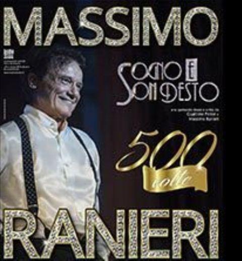 Massimo Ranieri con il recital Sogno e son desto 500 volte al Teatro Verdi