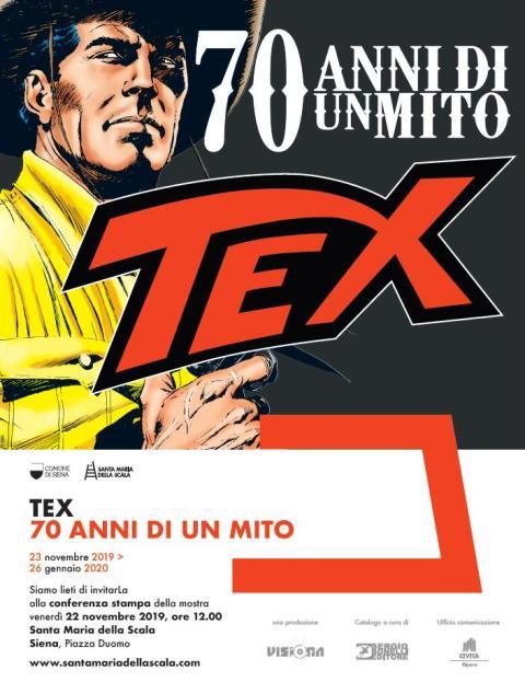Tex. 70 anni di un mito la mostra a Santa Maria della Scala