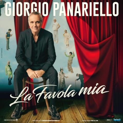Giorgio Panariello torna con il nuovo spettacolo La Favola Mia in Teatro a Chianciano Terme e Grosseto