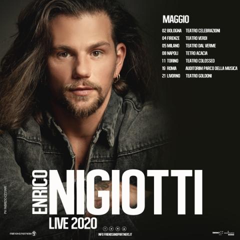 Enrico Nigiotti il nuovo Tour Teatrale al Teatro Verdi
