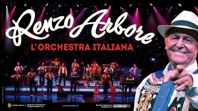 Renzo Arbore e l'Orchestra Italiana è stato rinviato a sabato 25 gennaio 2020