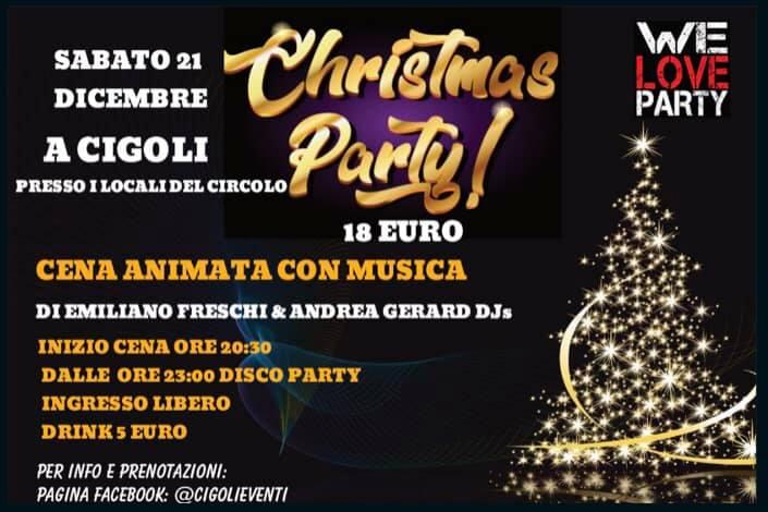 Christmas Party al Circolo di Cigoli