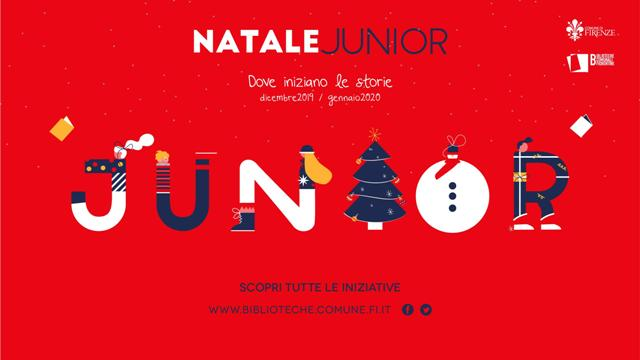 Natale Junior nelle Biblioteche comunali fiorentine tra letture, laboratori, spettacoli di animazione