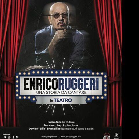 Enrico Ruggeri in concerto al Teatro Puccini