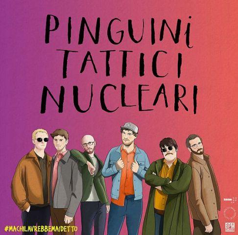 Pinguini Tattici Nucleari in concerto al Nelson Mandela Forum