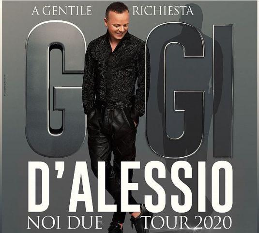Gigi D'Alessio Noi Due Tour 2020 in concerto al Teatro Verdi