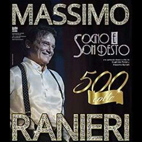 Massimo Ranieri in concerto al Teatro Verdi
