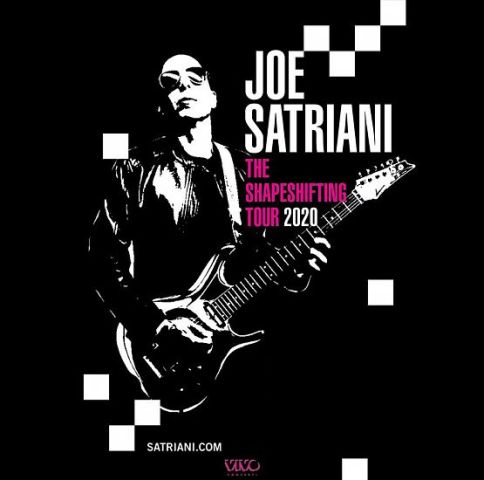 Joe Satriani, The Shapeshifting Tour 2020 al Teatro Verdi posticipato a maggio 2021
