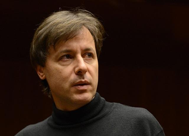 Tito Ceccherini direttore e Daniele Giorgi violino in concerto alla Pieve di Santa Maria e seconda data al Teatro Verdi