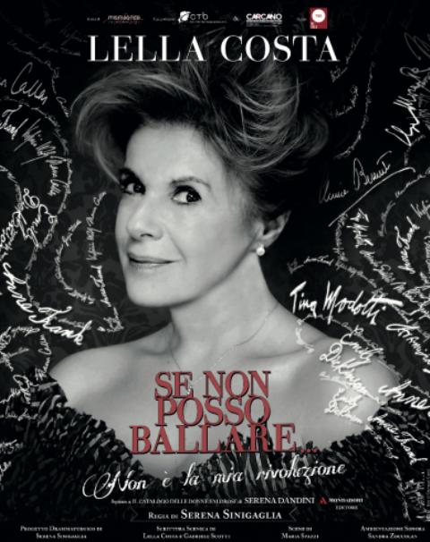 Se non posso ballare… non è la mia rivoluzione con Lella Costa al Teatro Puccini